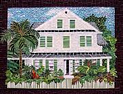 Florida Glass Art - Nassau House by Berta Sergeant