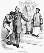 Anti Immigrant Photos - Nast: Blaine Cartoon, 1879 by Granger