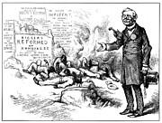 Nast: Tilden Cartoon, 1876 Print by Granger