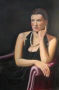 Natalie Print by Bruce Lum