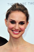 Stud Earrings Prints - Natalie Portman At Arrivals Print by Everett