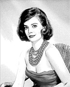 Natalie Wood 05 Print by Dean Wittle