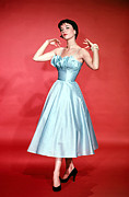 1950s Fashion Metal Prints - Natalie Wood, 1956 Metal Print by Everett