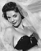 Bustier Photo Posters - Natalie Wood, Warner Brothers, 1950s Poster by Everett