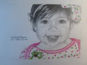Special Occasion Drawings - Natalies Birthday by Victoria Kader