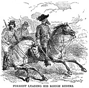 Guerilla Prints - Nathan Bedford Forrest (1821-1877) Print by Granger