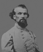 Confederate Army Framed Prints - Nathan Bedford Forrest Framed Print by War Is Hell Store
