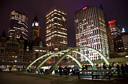 Skating Photos - Nathan Phillips Square by Shera Hastings