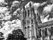 Worship Photo Originals - National Cathedral 1950 by Guy Whiteley