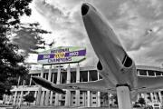 Lsu Prints - National Champions Print by Scott Pellegrin