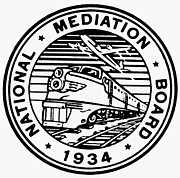 Mediation Prints - National Mediation Board Print by Granger