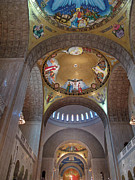 Byzantine Prints - National Shrine Interior Print by Barbara McDevitt