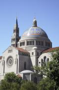 Byzantine Framed Prints - National Shrine of the Immaculate Conception Framed Print by William Kuta
