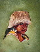 Mahto Hogue - Native American boy