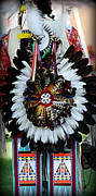 Pow Wow Posters - Native American Dancer - 2 Poster by Tam Graff