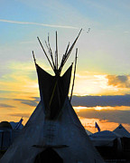 Grace Dillon - Native American TeePee