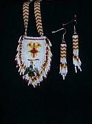 Landmarks Jewelry Originals - Native American Thunderbird by Mary Miller