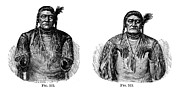 Sign Language Prints - Native Americans: Sign Language Print by Granger