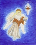 Nativity Paintings - Nativity Angel by Jessica Hallberg