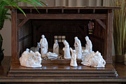 Manger Posters - Nativity Scene II Poster by Curtis Cunningham