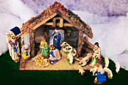 Manger Posters - Nativity Scene  Poster by viZualstudio  
