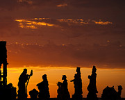 Religious Photos - Nativity Sunrise by Andrew Soundarajan