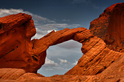Sandstone Posters - Natural Arch - Valley of Fire - Nevada Poster by Christine Till - CT-Graphics