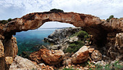 Point Of Interest Framed Prints - Natural Bridge - Cape Gkreko - Cyprus Framed Print by Oleksiy Maksymenko