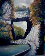 Anne-elizabeth Whiteway Prints - Natural Bridge Print by Anne-Elizabeth Whiteway