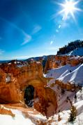 Southern Utah Prints - Natural Bridge I Print by Irene Abdou