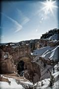 Southern Utah Prints - Natural Bridge II Print by Irene Abdou