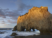 Los Angeles County Photos - Natural Bridge On El Matador State by Tim Fitzharris