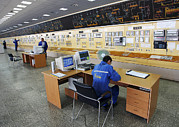 Control Room Photo Posters - Natural Gas Industry, Control Room Poster by Ria Novosti