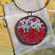 Acrylic Necklace Jewelry - Natural Magic by Dana Marie