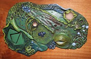 Art Glass Reliefs - Natural Pleasure by Megan Nelson