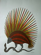 Gond Paintings - Nature by Bhajju Shyam