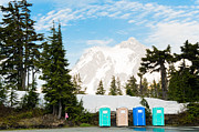 Outhouses Photos - Nature Calls by Denise Potrzeba Lett