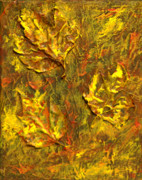 Fall Colors Mixed Media - Nature Collage by Rashmi Rao