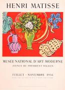 Mourlot Paintings - nature Morte au Magnolia by Henri Matisse