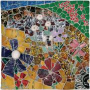 Mosaic Mixed Media Originals - Nature Study IV by Jonathan Mandell