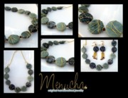 Handcrafted Jewelry - Natures Secrets Necklace by Menucha Citron