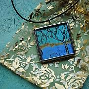Acrylic Necklace Jewelry - Natures Wisdom by Dana Marie