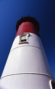 Cape Cod Mass Art - Nauset Beach Lighthouse by Skip Willits