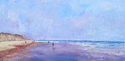 Eastham Painting Posters - Nauset Light Beach morning Poster by Bill Revill