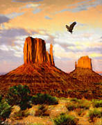 Jerry West Prints - Navajo Spirit Print by Jerry McElroy