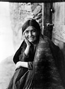1904 Prints - Navajo Woman, 1904 Print by Granger