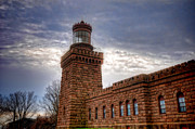 Fresnel Prints - Navesink Twin Lighthouse Print by Paul Ward