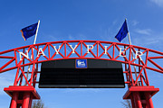 Editorial Metal Prints - Navy Pier Sign in Chicago Metal Print by Paul Velgos
