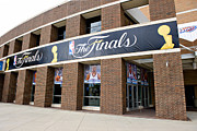 Nba Finals Prints - NBA Finals Print by Malania Hammer