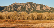 Colorado Front Range Photos - NCAR and Flatiron View Boulder Colorado   by James Bo Insogna